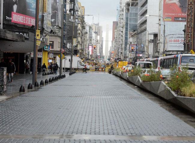 Peatonalización de Avenida Corrientes de la Ciudad de Buenos Aires
