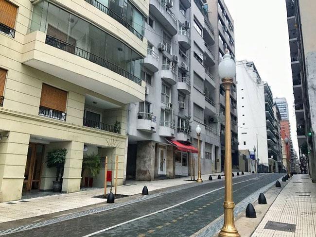Peatonalización del área de Tribunales de CABA