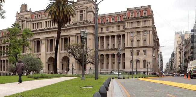 Peatonalización del área de Tribunales en la Ciudad de Buenos Aires