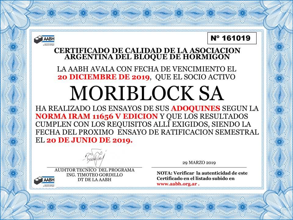 CERTIFICADO AABH ADQS MORIBLOCK 20-DIC-2019